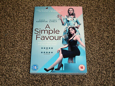 A SIMPLE FAVOUR : 2019 ANNA KENDRICK & BLAKE LIVELY DVD - IN VGC (FREE UK P&P)
