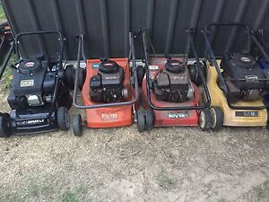 16 mowers and more Panania Bankstown Area Preview