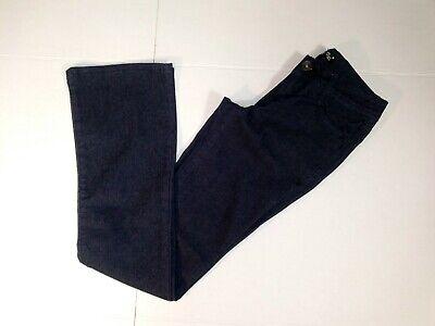 LEI Juniors Ashley Low-rise Slim Bootcut Jeans 5-Pockets Dark Blue Size 1 13 Low Rise Zipper Pockets