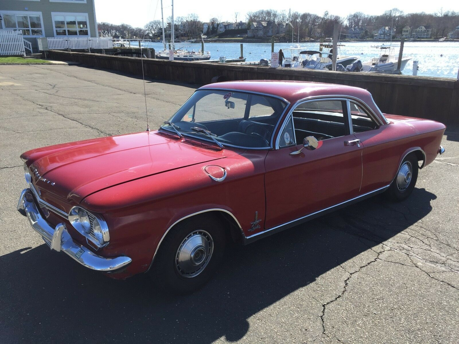 1964 Chevrolet Corvair Monza Spyder Classic Red 1964 Chevrolet Chevy Corvair Monza SPYDER 10,000 original miles
