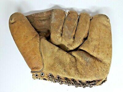 Vintage 1950's MacGregor Goldsmith Johnny Sain Baseball Glove, New York Yankees
