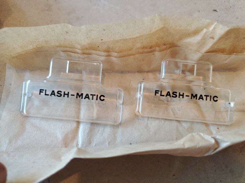 NOS 1955 Zenith Flash-Matic television part tv clear covers
