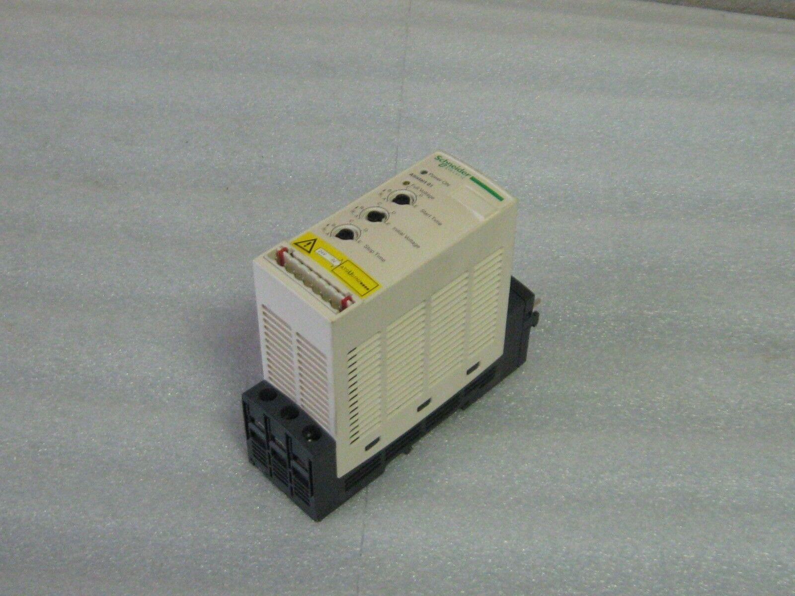 Telemecanique / Schneider Soft Start, ATSU01N206LT,  Used, Warranty