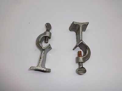 Lot Of 2 Ring Stand Clamps