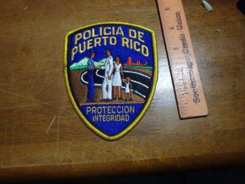POLICIA DE PUERTO RICO POLICE HIGHWAY PATROL  STATE POLICE OBSOLETE BX 11#3