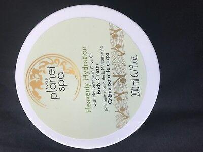 AVON Planet Spa Heavenly Hydration with Mediterranean Olive Oil Body Cream $8 -