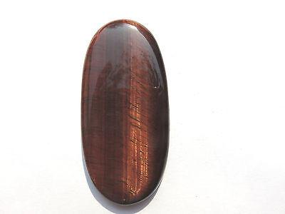 Tigerauge rot - Tigereye red Cabochon 66x31,5 mm 127 ct. U14951