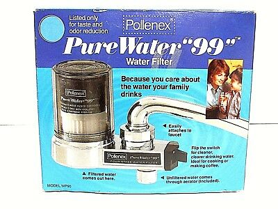 "Pollenex WP90 Pure Water ""99"" Multi Stage Faucet Water Filter"