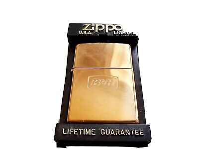 B&H Solid Brass Zippo Lighter Mark XII - Never Been Used