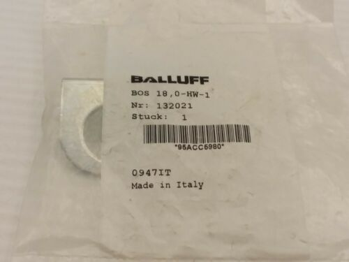 BALLUFF BOS 18,0-HW-1 MOUNTING BRACKET (132021) NIB