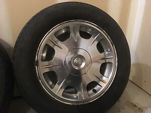 Chrysler 300 Rims and tires