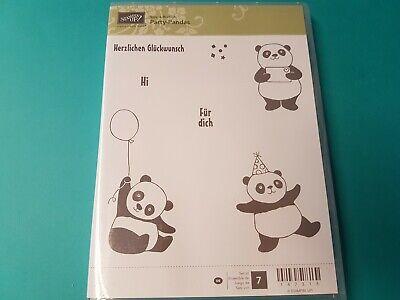 Stampin Up Stempelset Party-Pandas