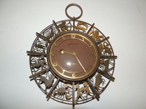 Vintage Atlanta Zodiac Wall Clock