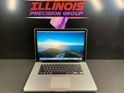 APPLE MACBOOK PRO 15 * PRE-RETINA * 3 YEAR WARRANTY * INTEL * 8GB RAM 1TB SSD *
