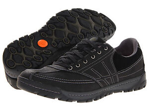 Merrell-Mens-Traveler-Spin-Black-Lace-up-Casual-Oxfords-Walking-Shoes-Sneakers