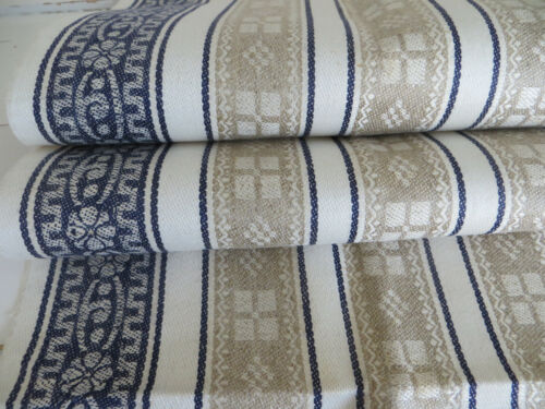 Unused Art Nouveau  Arts  Crafts Pattern Linen Towel Runner Wallhanging  german