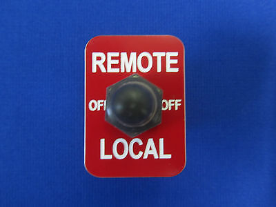Remote Switch Fits Lincoln Welder Sa 200 250 Toggle Apm Hexseal Boot Red Plate