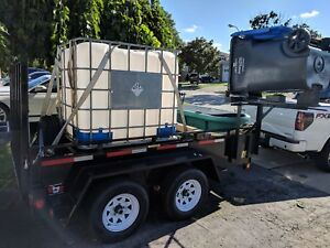 Trailer Pressure Washer System