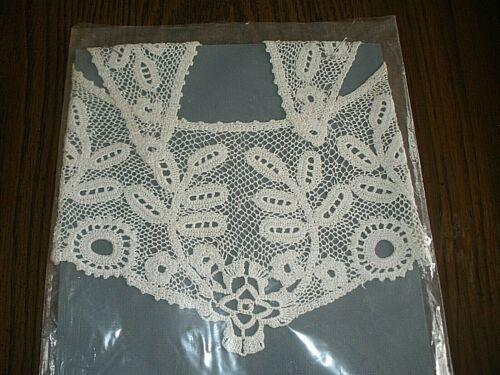 Vintage Lace Collar White #2