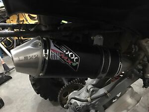 Lexx mx 400ex exhaust and mid pipe