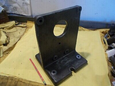 Bridgeport Usa Angle Plate For 12 Rotary Table Mill Milling Machine Fixture