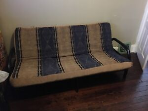 Medium image of metal frame futon and mattress