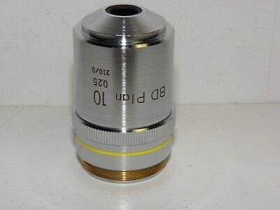 Olympus Microscope Objective Umplan 10x0.30 Nib