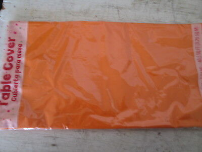 Solid Color Rectangle Plastic Party Table Cover 54