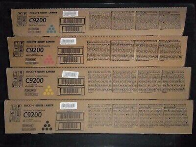 Genuine Ricoh Savin Lanier Print Cartridges C9200 828510 828511 828512 828513