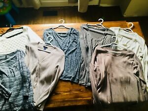 Selling Lot of 38 sweaters/tops/tanks all size xl