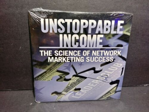 Unstoppable Income Science Of Network Marketing Success CD Brand New B340