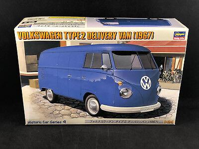 Hasegawa 1967 Volkswagen Type 2 Delivery Van 1:24 Scale Plastic Model Kit 21209