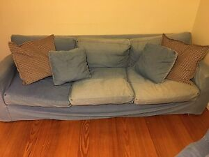 FREE: Three piece sofa lounge South Kingsville Hobsons Bay Area Preview