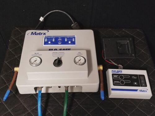 Matrx Flo-Safe Manifold Flowmeter System Control with Alarm and Regulators