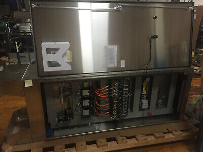 Hoffman Stainless Steel Cabinet A903624ssfsn4 With Goodies Inside