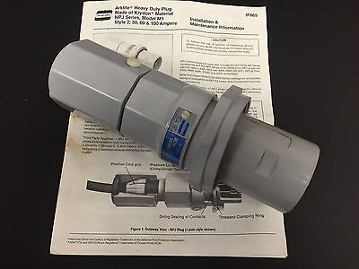 Crouse-hinds Arktite Heavy Duty Plug Njp6484