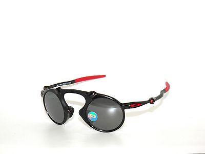 Oakley Madman Ferrari 6019-06 Carbon Black IRID Polarized Sunglasses Clearance