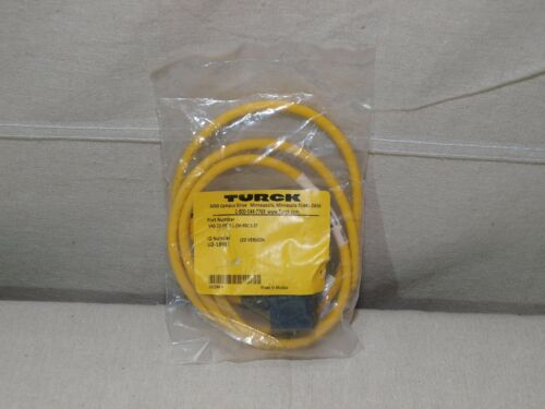 Turck VAS 22-F957-1.2M-RSC 5.3T Cordset LED Version ID: U2-18851 - New