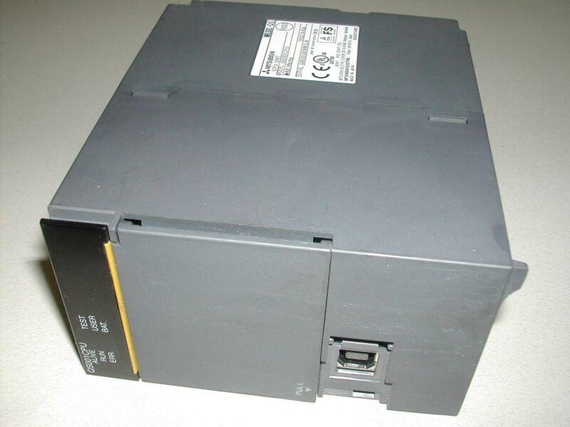 Mitsubishi MELSEC QS001CPU Processor Used Plastic damaged WORKS! T2