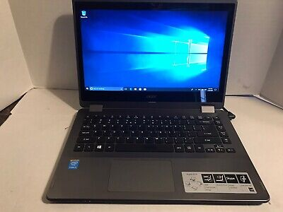 ACER ASPIRE R 14 2 TB HDD , 12 GB RAM 2.40 GHz WINDOWS 10 TOUCH SCREEN AND FLIP