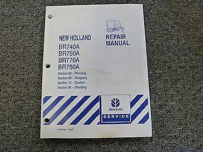 New Holland Br 740 750 770 780 A Baler Shop Service Repair Manual 62-68-70-90