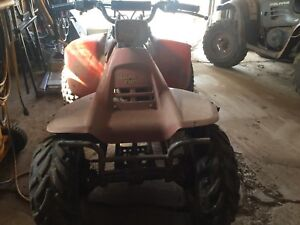 125 Suzuki quad runner ATV