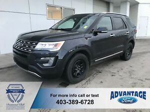 2017 Ford Explorer Limited Clean Carfax - Leather - Reverse Cam