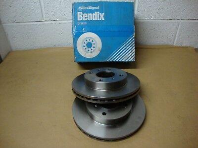 561402B Bendix Front Brake Discs (Pair) Fits Nissan Stanza T12 1985 - 1989