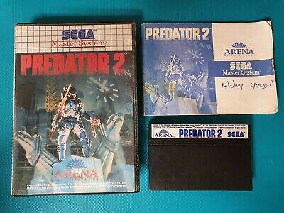 SEGA MASTER SYSTEM : predator 2