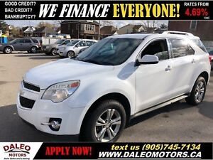 2010 Chevrolet Equinox 2LT|LEATHER|HEATED SEATS|PIONEER SOUND SY