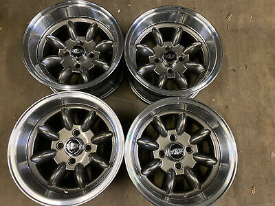 7x 13 JBW Superlight Wheels Set of 4 Gunmetal Paint shop 2nds 4x98 Fiat Lada Fit