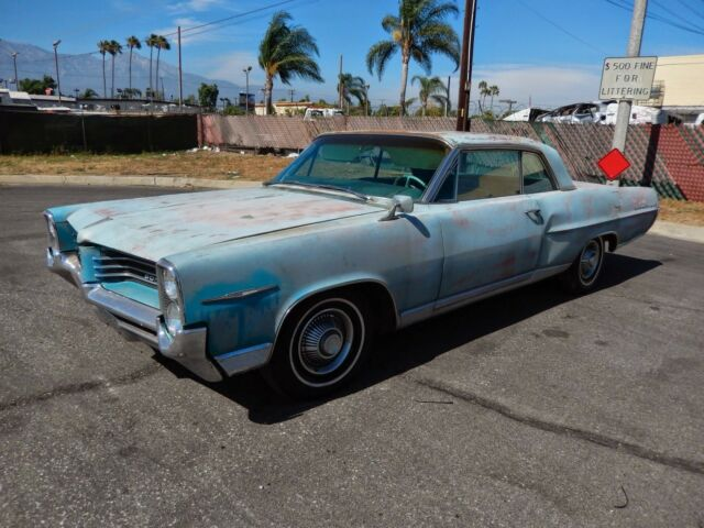 Pontiac : Bonneville BONNEVILLE 1964 PONTIAC BONNEVILLE ALL ORIGINAL CALIF CAR NEEDS PAINT HAS NEW CARPET SET !!