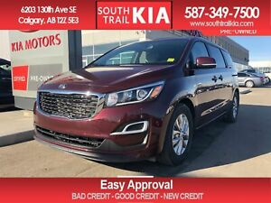 2019 Kia Sedona LX, BLUETOOTH, HEATED SEATS, POWER DRIVER SEAT