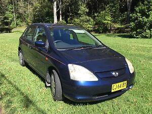 2001 Honda Civic Hatchback Karangi Coffs Harbour Area Preview